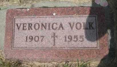 VOLK, VERONICA - Pierce County, North Dakota | VERONICA VOLK - North Dakota Gravestone Photos