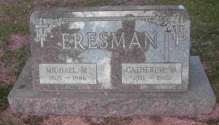 ERESMAN, MICHAEL M - Ramsey County, North Dakota | MICHAEL M ERESMAN - North Dakota Gravestone Photos