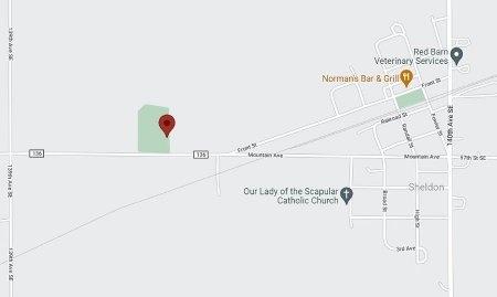 02-CEMETERY, MAP - Ransom County, North Dakota | MAP 02-CEMETERY - North Dakota Gravestone Photos