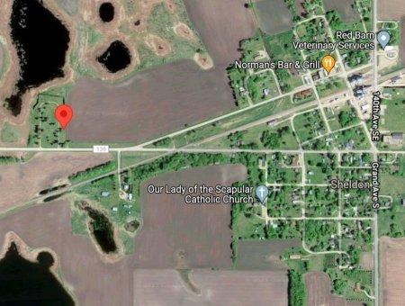03-CEMETERY, SKY VIEW - Ransom County, North Dakota   SKY VIEW 03-CEMETERY - North Dakota Gravestone Photos