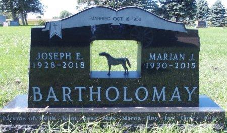 LARSON BARTHOLOMAY, MARIAN J - Ransom County, North Dakota | MARIAN J LARSON BARTHOLOMAY - North Dakota Gravestone Photos