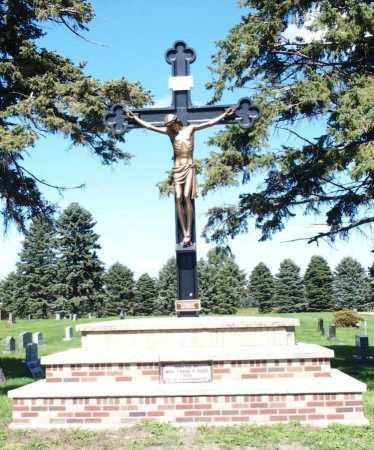 01-CEMETERY, CRUCIFIX - Ransom County, North Dakota   CRUCIFIX 01-CEMETERY - North Dakota Gravestone Photos