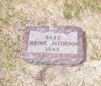 JACOBSON, JEROME - Ransom County, North Dakota | JEROME JACOBSON - North Dakota Gravestone Photos
