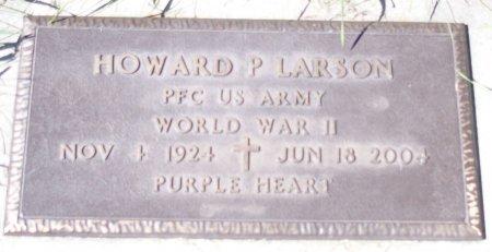 LARSON, HOWARD P - Ransom County, North Dakota   HOWARD P LARSON - North Dakota Gravestone Photos