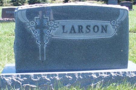 LARSON, HEADSTONE 1 - Ransom County, North Dakota   HEADSTONE 1 LARSON - North Dakota Gravestone Photos