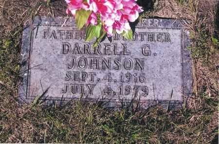 JOHNSON, DARRELL G. - Richland County, North Dakota   DARRELL G. JOHNSON - North Dakota Gravestone Photos