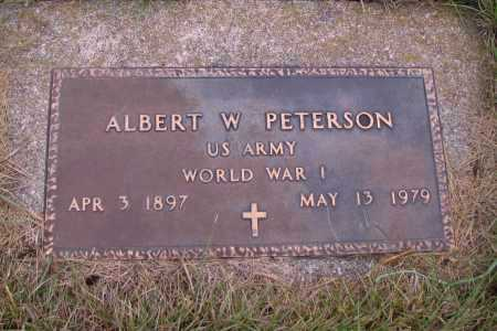 PETERSON, ALBERT W. - Richland County, North Dakota | ALBERT W. PETERSON - North Dakota Gravestone Photos