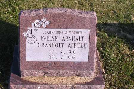 ARNHALT, EVELYN GRANHOLD - Richland County, North Dakota | EVELYN GRANHOLD ARNHALT - North Dakota Gravestone Photos