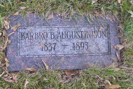 AUGUSTINISON, BARBRO B. - Richland County, North Dakota | BARBRO B. AUGUSTINISON - North Dakota Gravestone Photos