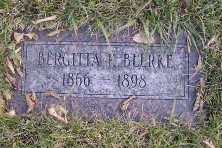 BLLRRE, BERGITTA F. - Richland County, North Dakota | BERGITTA F. BLLRRE - North Dakota Gravestone Photos
