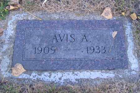 CARLSON, AVIS A. - Richland County, North Dakota | AVIS A. CARLSON - North Dakota Gravestone Photos