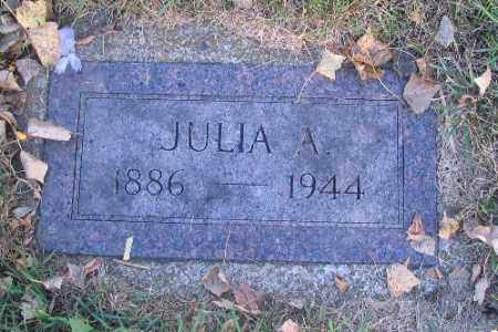 CARLSON, JULIA A. - Richland County, North Dakota | JULIA A. CARLSON - North Dakota Gravestone Photos