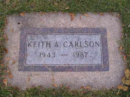 CARLSON, KEITH A. - Richland County, North Dakota | KEITH A. CARLSON - North Dakota Gravestone Photos