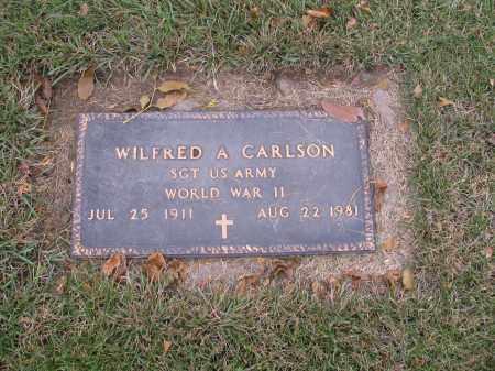 CARLSON, WILFRED A. - Richland County, North Dakota | WILFRED A. CARLSON - North Dakota Gravestone Photos