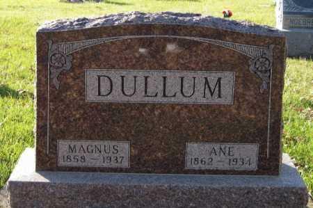 DULLUM, ANE - Richland County, North Dakota | ANE DULLUM - North Dakota Gravestone Photos