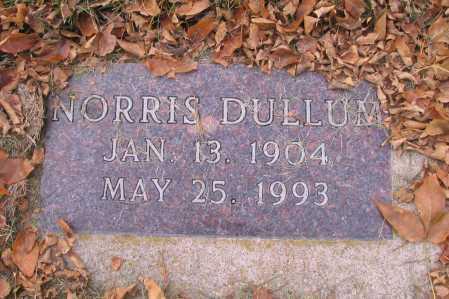 DULLUM, NORRIS - Richland County, North Dakota   NORRIS DULLUM - North Dakota Gravestone Photos