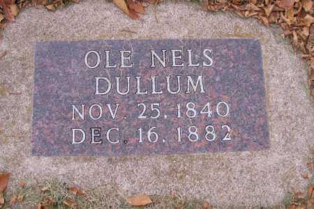 DULLUM, OLE NELS - Richland County, North Dakota | OLE NELS DULLUM - North Dakota Gravestone Photos