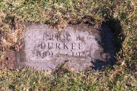 DURKEE, FRED B. - Richland County, North Dakota   FRED B. DURKEE - North Dakota Gravestone Photos