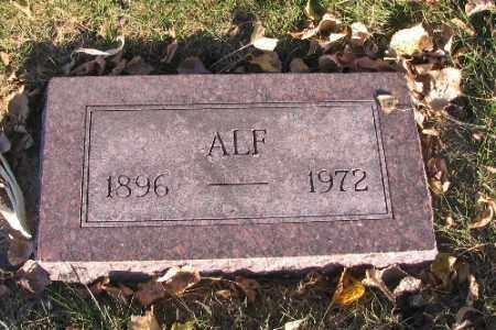 ERICKSON, ALF - Richland County, North Dakota | ALF ERICKSON - North Dakota Gravestone Photos