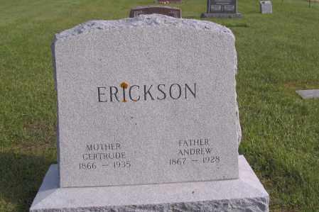 ERICKSON, GERTRUDE - Richland County, North Dakota | GERTRUDE ERICKSON - North Dakota Gravestone Photos