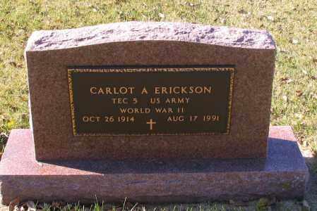 ERICKSON, CARLOT A. - Richland County, North Dakota | CARLOT A. ERICKSON - North Dakota Gravestone Photos