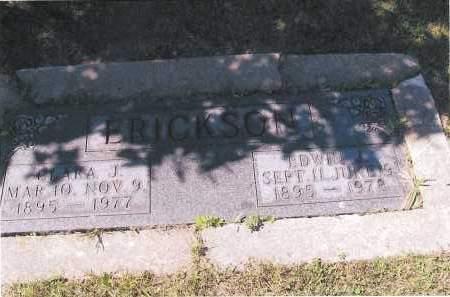 ERICKSON, EDWIN L. - Richland County, North Dakota   EDWIN L. ERICKSON - North Dakota Gravestone Photos
