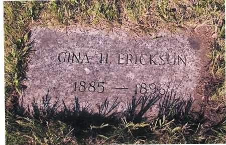 ERICKSON, GINA H. - Richland County, North Dakota | GINA H. ERICKSON - North Dakota Gravestone Photos