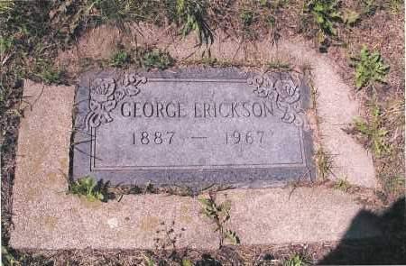ERICKSON, GEORGE - Richland County, North Dakota | GEORGE ERICKSON - North Dakota Gravestone Photos