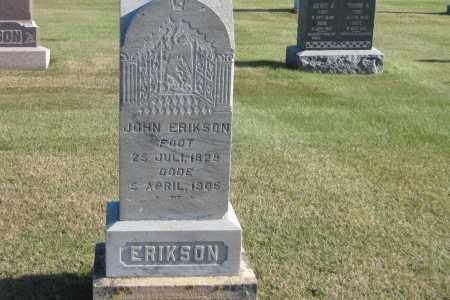 ERICKSON, JOHN - Richland County, North Dakota | JOHN ERICKSON - North Dakota Gravestone Photos