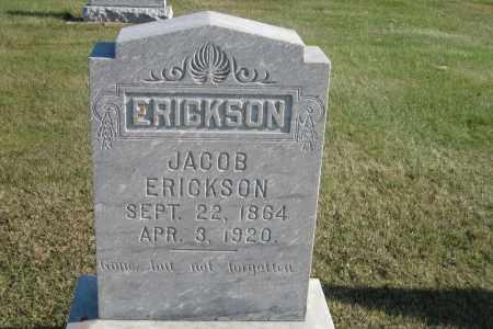 ERICKSON, JACOB - Richland County, North Dakota | JACOB ERICKSON - North Dakota Gravestone Photos