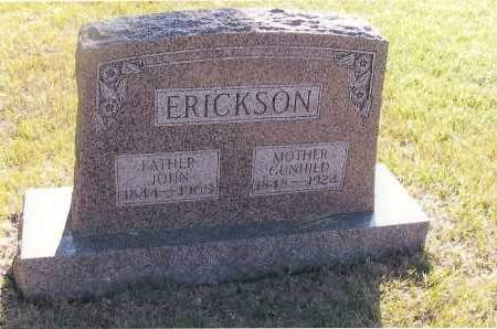 ERICKSON, GUNHILD - Richland County, North Dakota | GUNHILD ERICKSON - North Dakota Gravestone Photos