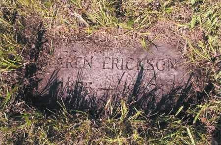 ERICKSON, KAREN - Richland County, North Dakota | KAREN ERICKSON - North Dakota Gravestone Photos