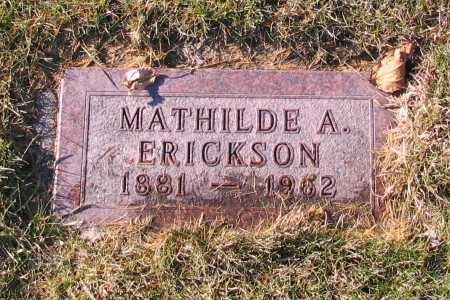 ERICKSON, MATHILDE A. - Richland County, North Dakota   MATHILDE A. ERICKSON - North Dakota Gravestone Photos