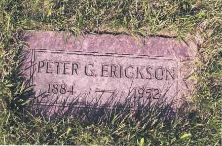 ERICKSON, PETER G. - Richland County, North Dakota | PETER G. ERICKSON - North Dakota Gravestone Photos