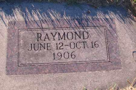 ERICKSON, RAYMOND - Richland County, North Dakota | RAYMOND ERICKSON - North Dakota Gravestone Photos