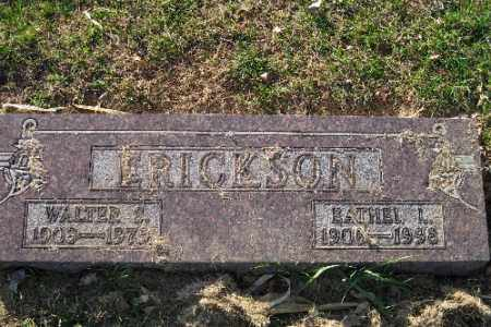 ERICKSON, WALTER - Richland County, North Dakota | WALTER ERICKSON - North Dakota Gravestone Photos