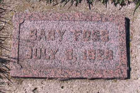 FOSS, BABY - Richland County, North Dakota | BABY FOSS - North Dakota Gravestone Photos