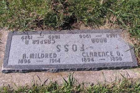 FOSS, CLARENCE O. - Richland County, North Dakota | CLARENCE O. FOSS - North Dakota Gravestone Photos