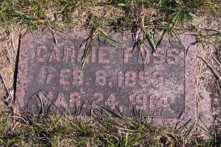FOSS, CARRIE - Richland County, North Dakota | CARRIE FOSS - North Dakota Gravestone Photos