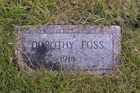 FOSS, DOROTHY - Richland County, North Dakota   DOROTHY FOSS - North Dakota Gravestone Photos