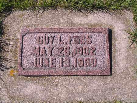 FOSS, GUY L. - Richland County, North Dakota   GUY L. FOSS - North Dakota Gravestone Photos