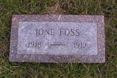 FOSS, JONE - Richland County, North Dakota   JONE FOSS - North Dakota Gravestone Photos