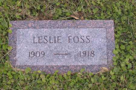 FOSS, LESLIE - Richland County, North Dakota | LESLIE FOSS - North Dakota Gravestone Photos