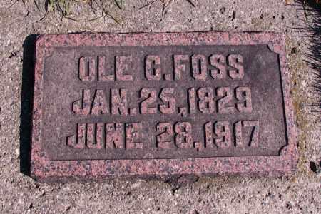 FOSS, OLE C. - Richland County, North Dakota   OLE C. FOSS - North Dakota Gravestone Photos