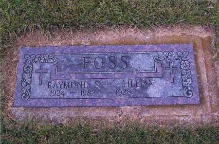 FOSS, RAYMOND S. - Richland County, North Dakota   RAYMOND S. FOSS - North Dakota Gravestone Photos