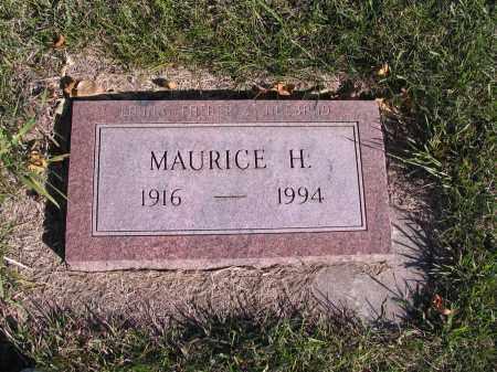 HACKEY, MAURICE H. - Richland County, North Dakota | MAURICE H. HACKEY - North Dakota Gravestone Photos