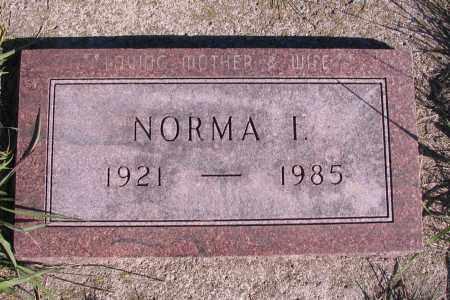HACKEY, NORMA I. - Richland County, North Dakota | NORMA I. HACKEY - North Dakota Gravestone Photos