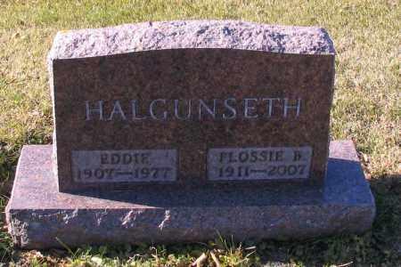 HALGUNSETH, FLOSSIE B. - Richland County, North Dakota | FLOSSIE B. HALGUNSETH - North Dakota Gravestone Photos