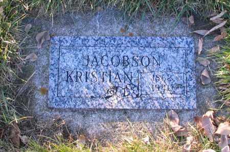 JACOBSON, KRISTIAN - Richland County, North Dakota | KRISTIAN JACOBSON - North Dakota Gravestone Photos