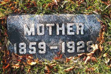 JACOBSON, MOTHER - Richland County, North Dakota   MOTHER JACOBSON - North Dakota Gravestone Photos